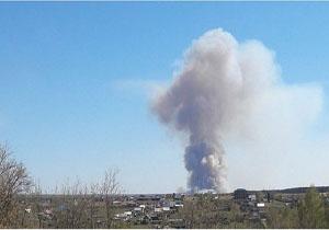اسپوتنیک: تخلیه ۲۰۰۰ نفر به دلیل وقوع انفجار در منطقه نظامی روسیه