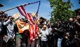 باشگاه خبرنگاران -تهرانیها علیه آمریکا و رژیم صهیونیستی تظاهرات خشم برگزار میکنند