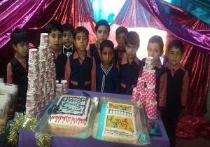 جشن پایان تحصیلی ۴۸ نو آموز دختر و پسر در چاهک
