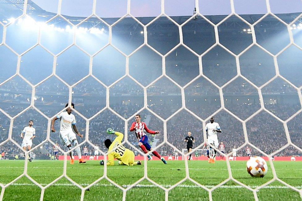 مارسی 0 - اتلتیکو مادرید 3/قهرمانی مادریدی ها با درخشش ستاره فرانسوی در خاک خروس ها