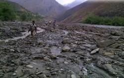 نجات کوه پیمایان گرفتار در سیل نیشابور