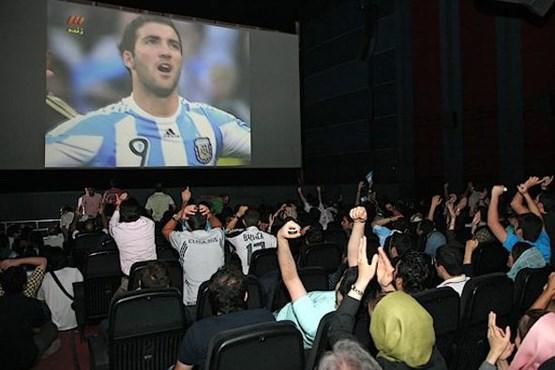 متاسفانه نمایش فوتبال در سینماها اتفاق خوبی است