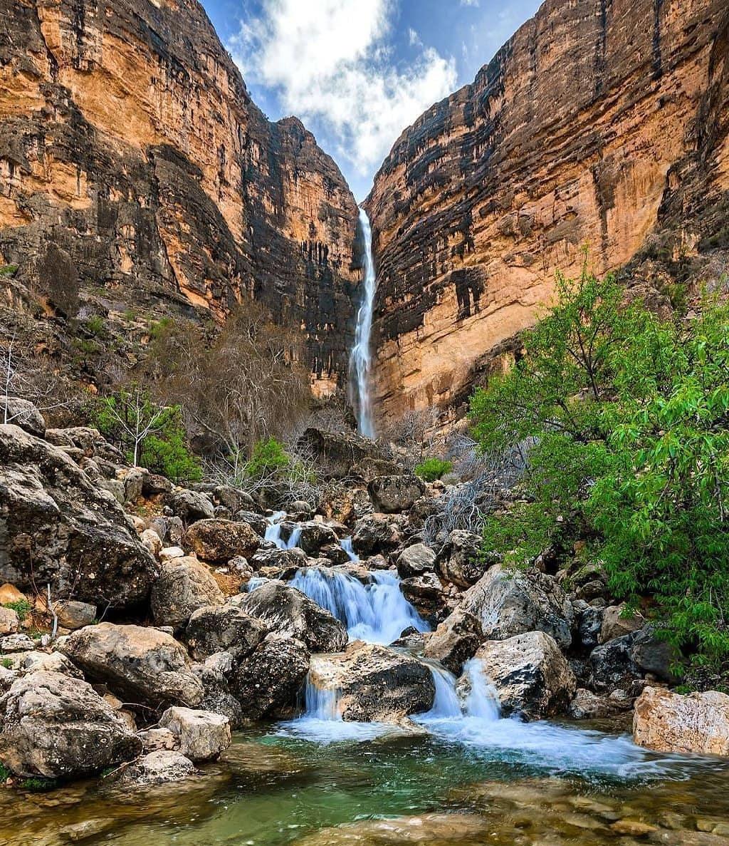 بزرگ ترین آبشار فصلی خاور میانه کجاست؟
