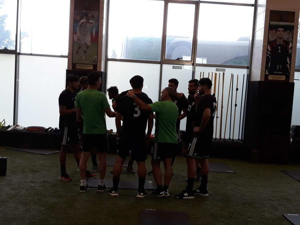 گزارش تمرین تیم ملی فوتبال + تصاویر