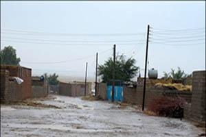 سیل 10 منزل در نیشابور را تخریب کرد