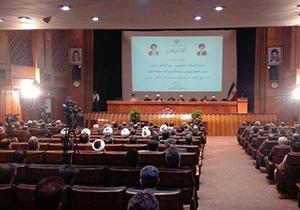 مراسم معارفه امام جمعه جدید شیراز برگزار شد