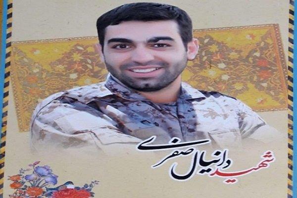 پیکر شهید رزمنده یگان ویژه صابرین تشییع شد