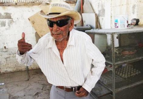 یک پیرمرد مکزیکی مدعی عنوان «پیرترین فرد جهان» شد+تصاویر
