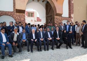 استاندار چهارمحال و بختیاری از مراحل تولید بانوی سردار دیدن کرد
