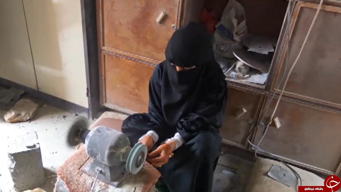 زن یمنی که به سنگهای عقیق جان میبخشد+تصاویر