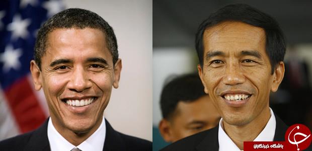 شباهت جالب یک رئیس جمهور آسیایی به باراک اوباما + تصاویر
