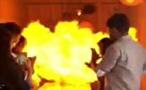 باشگاه خبرنگاران -انفجار وحشتناک بادکنکها در جشن تولد حادثه آفرید! +فیلم