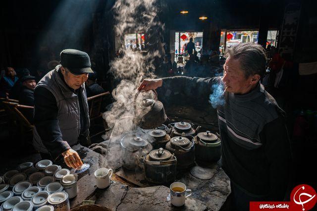 پاتوق سالمندان در عکس روز نشنال جئوگرافیک