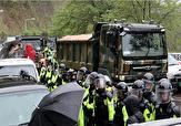 تظاهرات مردم کره جنوبی در اعتراض به تداوم استقرار سامانه دفاع موشکی تاد در خاک این کشور