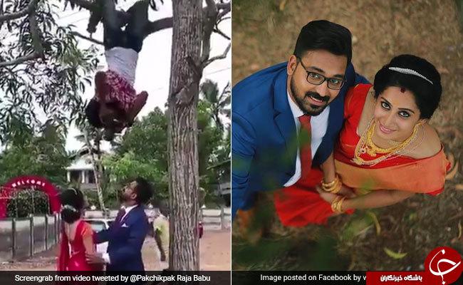 جوان خلاق هندوستانی به مرد عنکبوتی عروسی ها مشهور شد/ فیلم و تصاویر