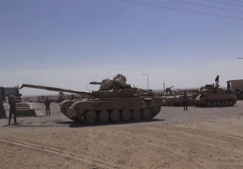 زرادخانه مخوف «ارتش عربستان» در«الضمیر»؛ تسلیم انواع تانک تا موشکهای «تاو» آمریکا به ارتش سوریه