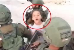 دختر ۱۲ ساله فلسطینی که صهیونیستها از او وحشت دارند! +فیلم
