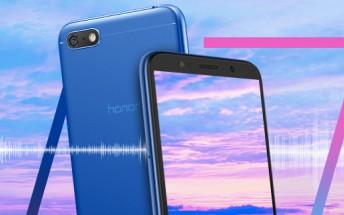 گوشی Honor Play 7 شرکت هواوی رونمایی شد +تصاویر
