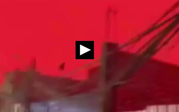 ویدئویی از یک پدیده عجیب و غریب در عراق!