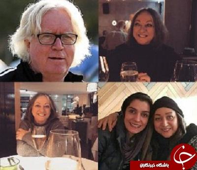 شباهت جالب همسر شفر به هنرپیشه معروف ایرانی +عکس