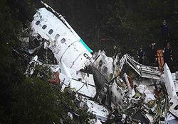 صحنه دلخراش آتش گرفتن جنازههای مسافران پس از سقوط هواپیما + فیلم
