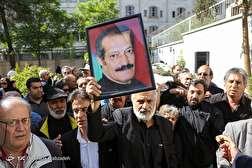 باشگاه خبرنگاران - مراسم تشییع پیکر حسین شهاب