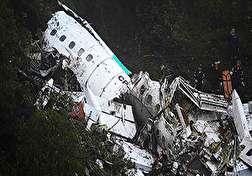 باشگاه خبرنگاران - صحنه دلخراش آتش گرفتن جنازههای مسافران پس از سقوط هواپیما + فیلم