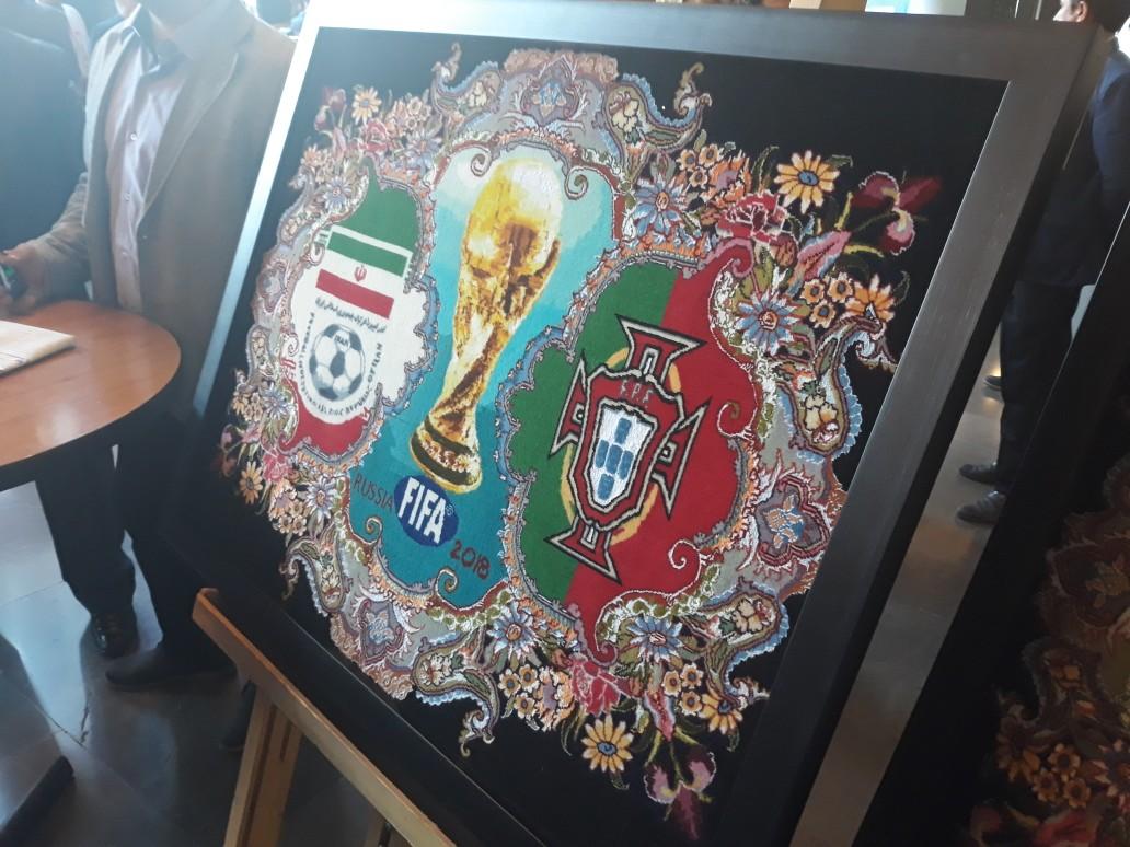 مراسم بدرقه تیم ملی فوتبال کشورمان برگزار شد