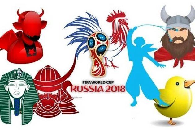 لقب و نمادهای تیم های حاضر در جام جهانی