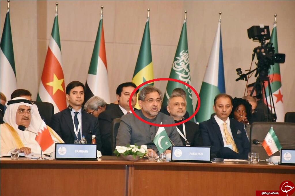 دیپلماتی که با رفتارش در نشست کنفرانس اسلامی به سوژه فضای مجازی تبدیل شد +فیلم