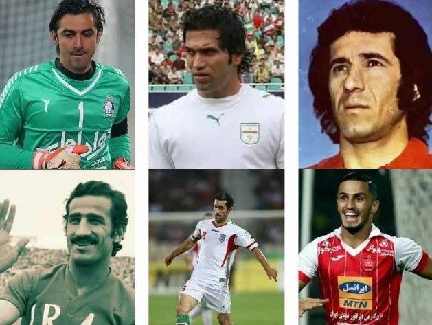 بازیکنان ایرانی که حسرت جام جهانی بر دل آنها ماند