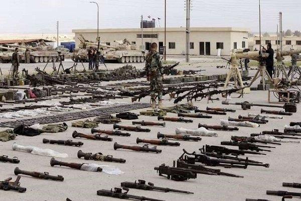 باشگاه خبرنگاران -کشف سلاح ها و موشکهای غربی در مواضع تکفیریها در حمص
