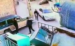 لحظه ربودن دختر 18 ساله در تبریز + فیلم