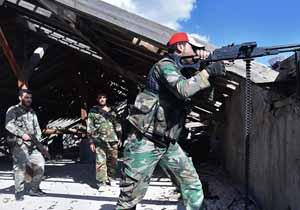 باشگاه خبرنگاران -کنترل اردوگاه یرموک در دستان نیروهای سوری