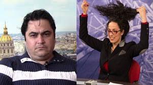 درآمد بالای خبرنگار فراری برای تحریک ن ایرانی به بی حج ! +