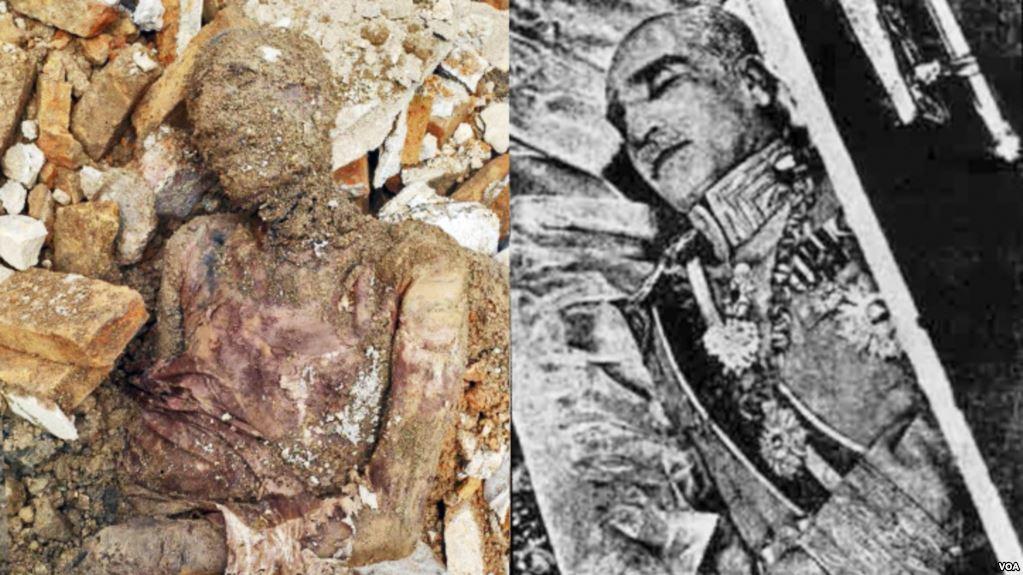 خبرنگار: کاظمی/هویت جسد مومیایی کشف شده را میراث فرهنگی تشخیص میدهد