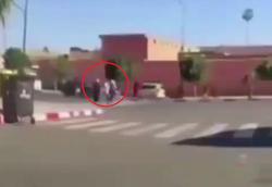 صحنهای تکاندهنده در خیابان که یک شهروند با موبایل خود ثبت کرد!+فیلم