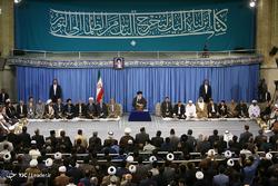 دیدار شرکتکنندگان در سیوپنجمین دوره مسابقات بینالمللی قرآن با رهبر معظم انقلاب