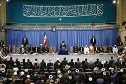 باشگاه خبرنگاران - دیدار شرکتکنندگان در سیوپنجمین دوره مسابقات بینالمللی قرآن با رهبر معظم انقلاب