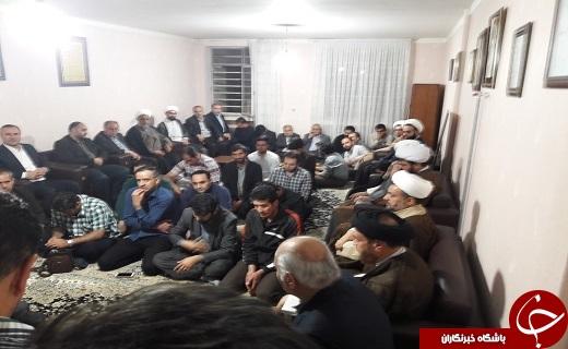 مردم ارومیه در غم از دست رفتن یار دیرین امام + تصاویر