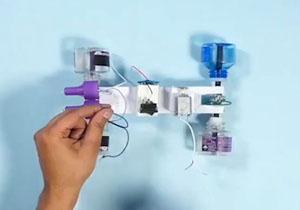 ساخت ماشین الکتریکی با استفاده از وسایل دور ریز +فیلم