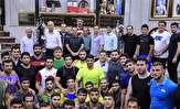 ادامه تمرینات آزاد و فرنگی کاران در زورخانه برای حضور در بازی های آسیایی