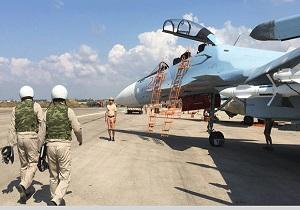 هدف قرار گرفتن یک پهباد نزدیک پایگاه روسی حمیمیم در سوریه