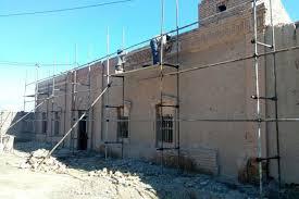 مرمت بنای تاریخی قلعه پوراشرف استان ایلام