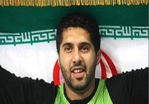 قهرمانی کاوه موسوی در مسابقات پرتاب چکش لیگ طلایی دو و میدانی کشور