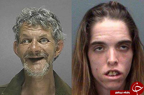 جنایتکارانی که عجیبترین چهرهها را دارند+تصاویر
