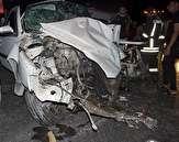 باشگاه خبرنگاران -برخورد خودرو با پل عابر پیاده دو مصدوم بر جای گذاشت
