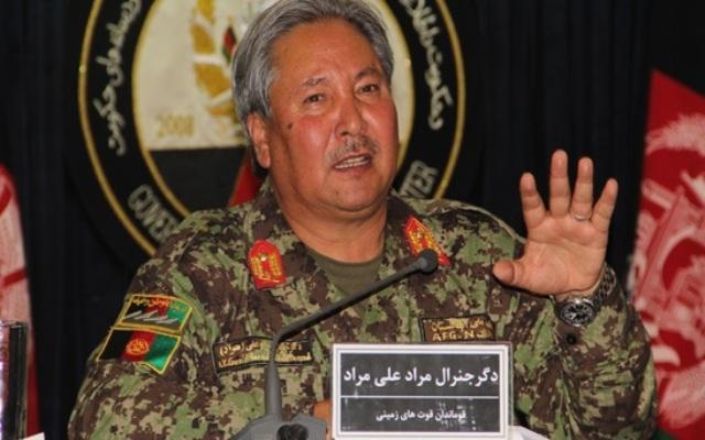 جنرال مطرح افغانستانی توسط اشرف غنی برکنار شد