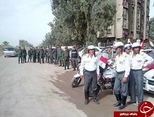 نگاهی به چگونگی روند آزادسازی جنوب دمشق از لوث تروریستها+ تصاویر