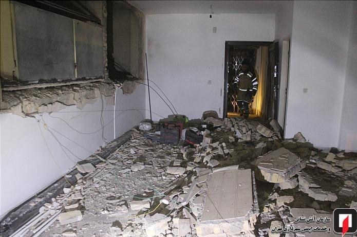 نشتی کپسول گاز ساختمان 3 طبقه را به هوا فرستاد + تصاویر